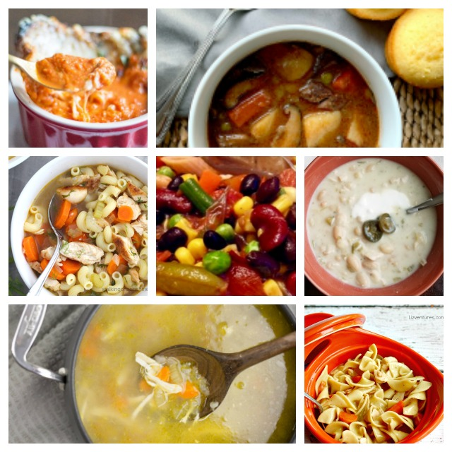 7 Hearty Winter Soup Recipes #soup #souprecipes