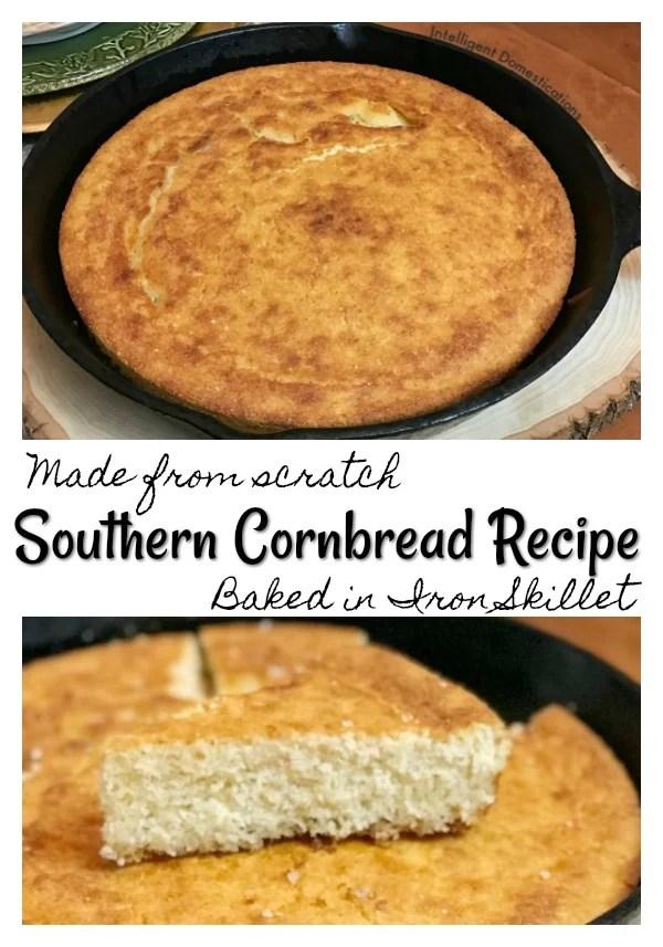 Southern Cornbread Recipe Intelligent Domestications