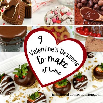 9 Valentine's Day Dessert Recipes To Make At Home