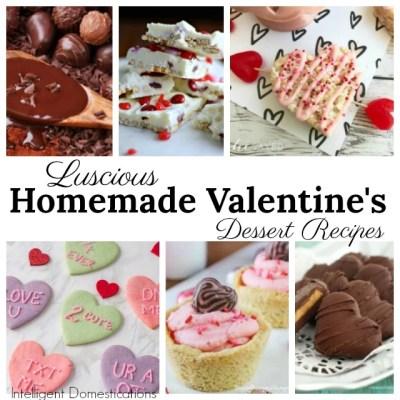Valentine's Day Dessert Recipes (Merry Monday 240)