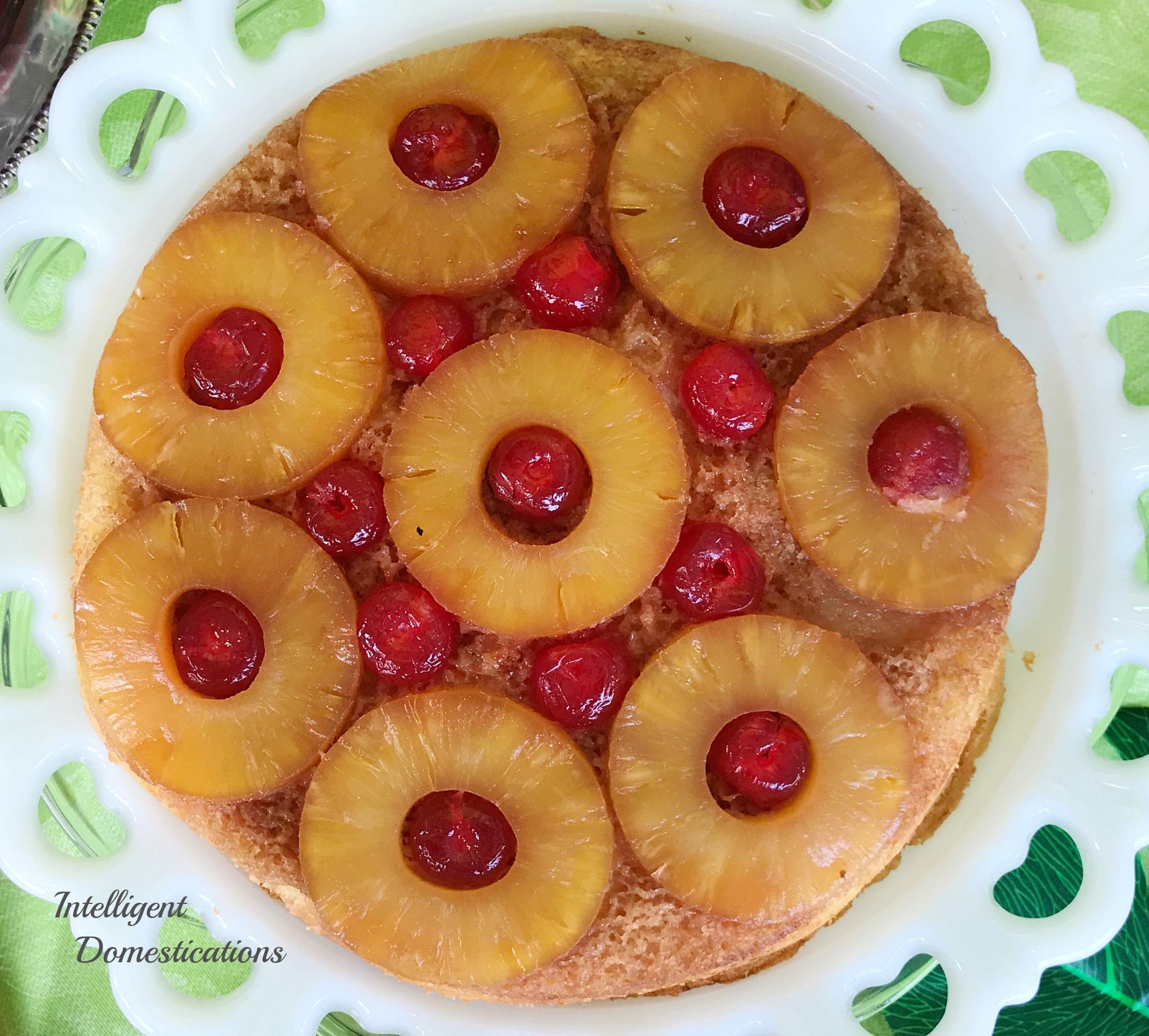 Pineapple Upside Cake From Scratch: Easy Pineapple Upside Down Cake Recipe