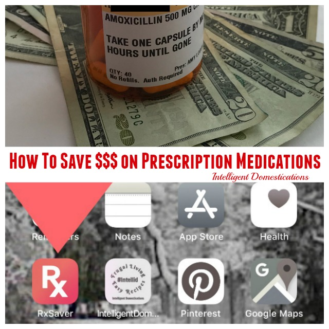 How to compare prescriptions costs before you even leave the doctor's office. Use the Rx Saver site or App to quickly compare Prescription medications cost at pharmacies in your area #prescriptioncosts #savemoney