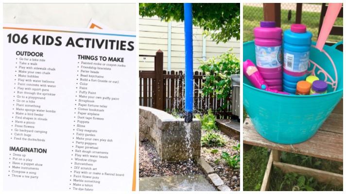 Summer Activities for Kids Ideas