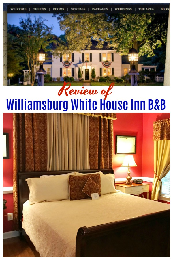 Williamsburg White House Inn Bed and Breakfast Review 2019