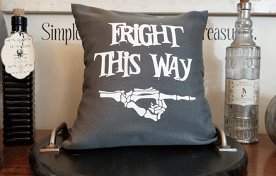 Fall Throw Pillow Covers – Dollar Store Style