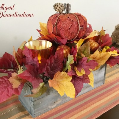 Rustic Fall Centerpiece DIY