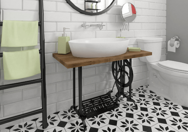 How To Update a Bathroom. Bathroom makeover tips