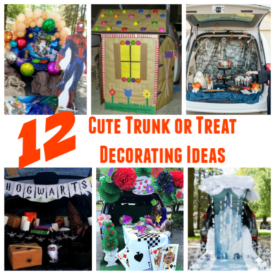 12 Cute Trunk or Treat Decorating Ideas