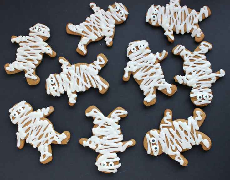 Gingerbread Mummies - The Suburban Soapbox