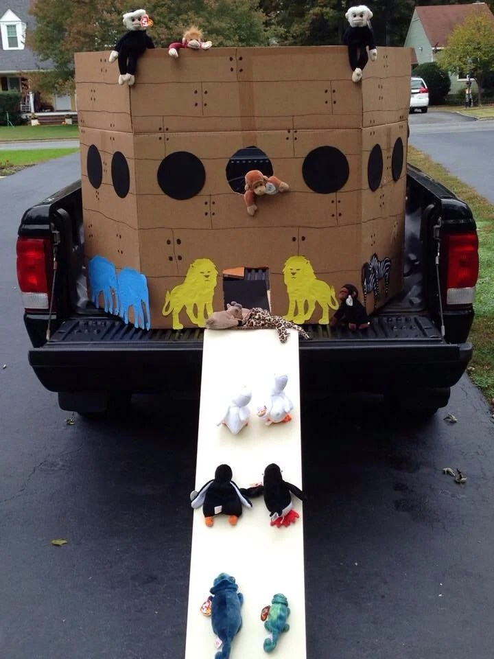 Noah's Ark for Trunk or Treat at Trinity Lutheran Church