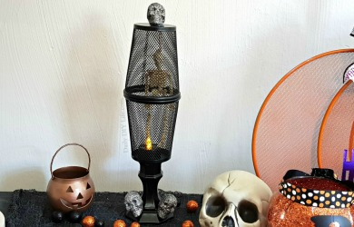 DIY Dollar Tree Skeleton Spooky Halloween Decorations
