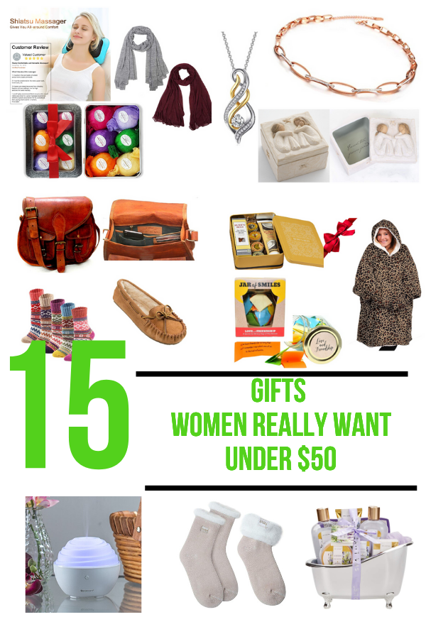 15 Gifts Women Really Want for under $50