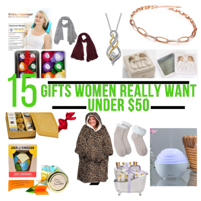 15 Gifts Women Really Want Under $50