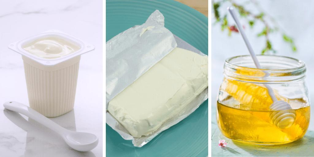 Yogurt Cream Cheese and Honey