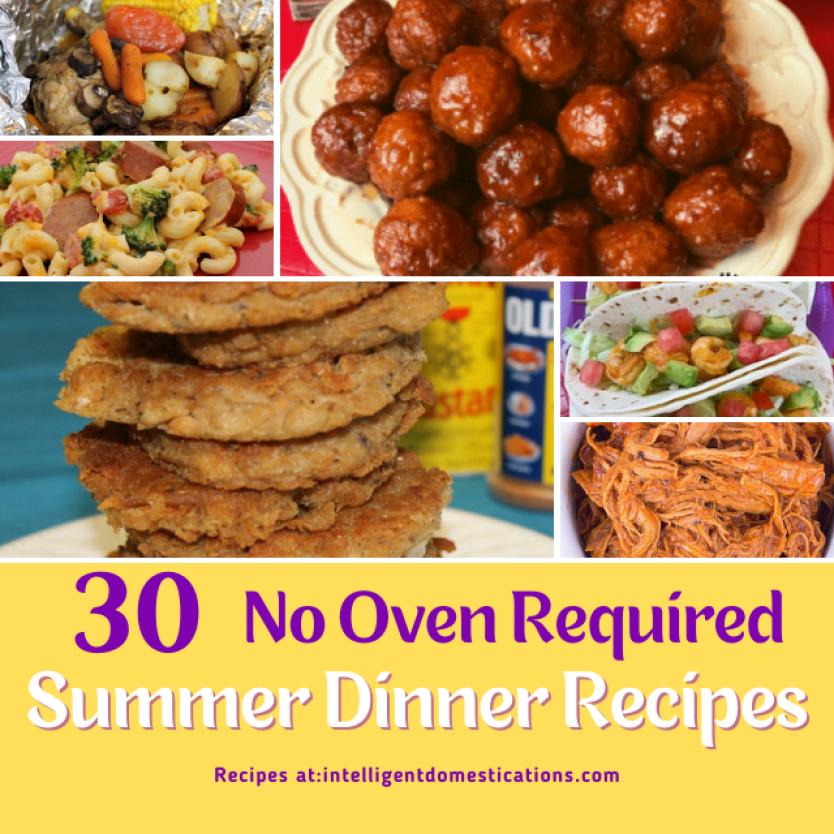 30 dinner recipes