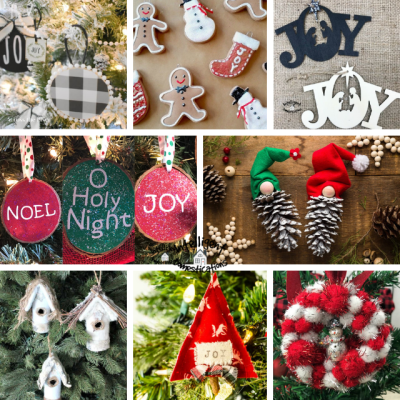 8 images of DIY Christmas Ornaments