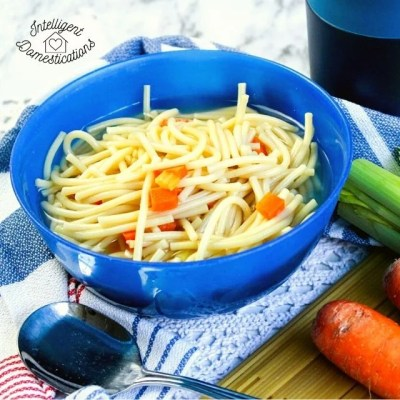 Homemade Chicken Noodle Soup Easy Recipe