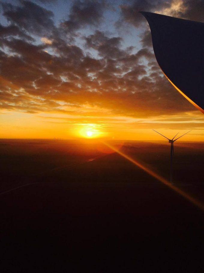 Sunset taken by Lita George