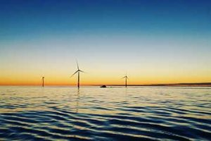 Christopher Eilers took this in Sandbanks Windfarm/ North Sea