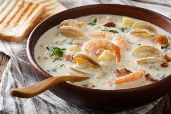 Clam Chowder homemade