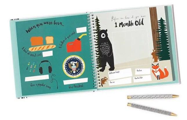 memory book baby
