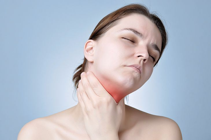 Decrease in thyroid levels