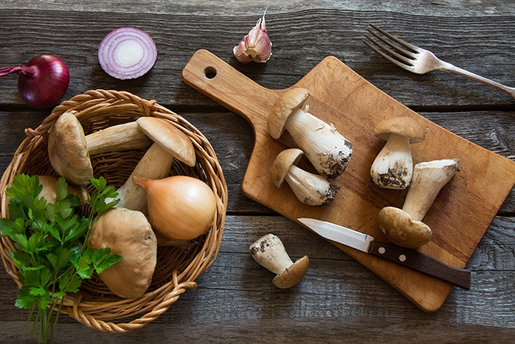 mushrooms while pregnant