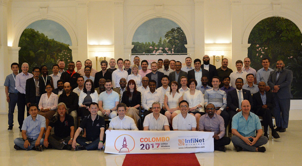 InfiNet Wireless 8th International Partner Conference highlights success of growing team