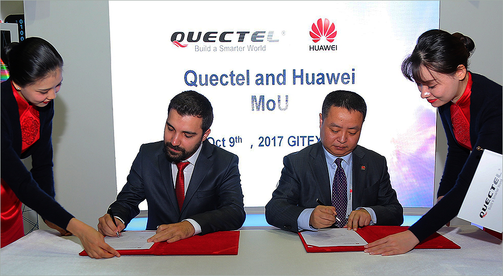 Huawei expands regional IoT portfolio through Nextek and Quectel partnerships