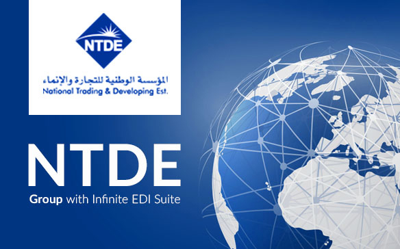 NTDE Group in the UAE deploys Infinite EDI Suite to replace communication by fax, email and post