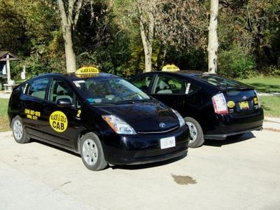 Photo: Hybrid Taxis