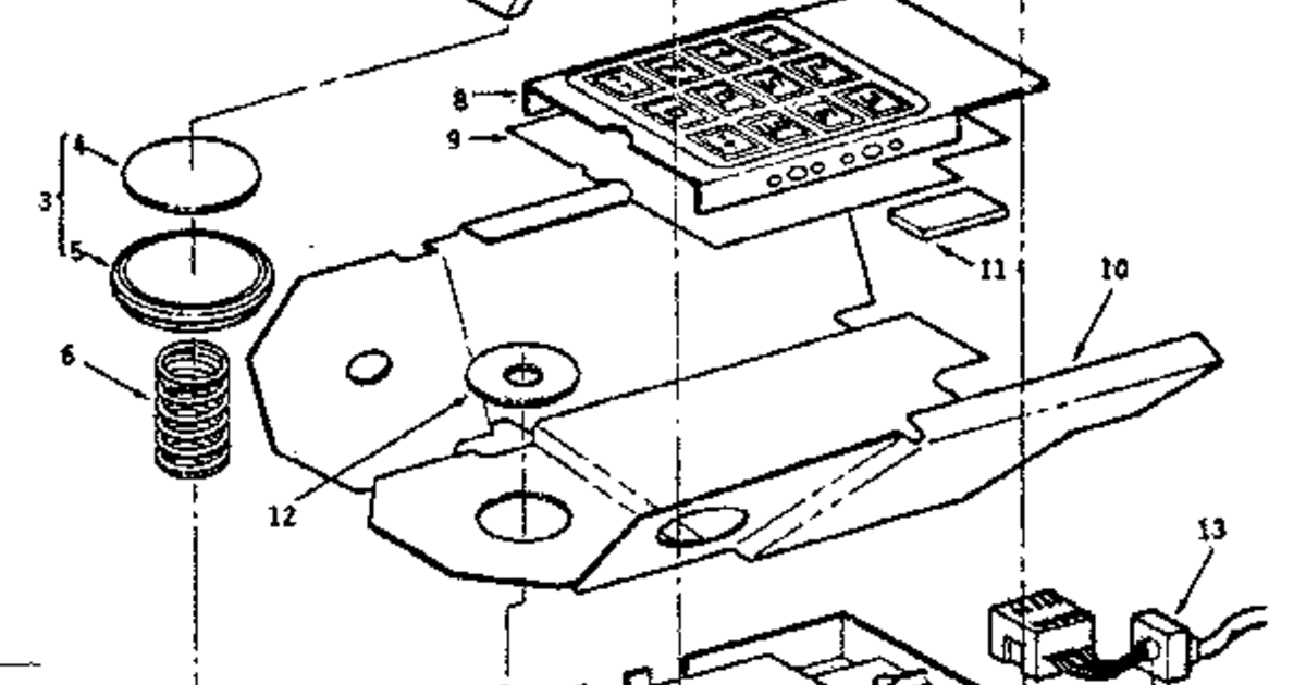 Sears still has Intellivision Controller parts in stock