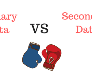 Primary Data VS Secondary Data