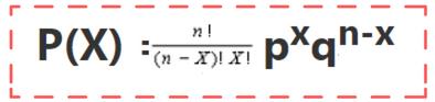 binomial distribution formula 2