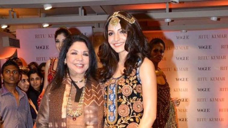 Ritu Kumar - Fashion Designer - Top 10 Women Entrepreneurs in India IntendStuff