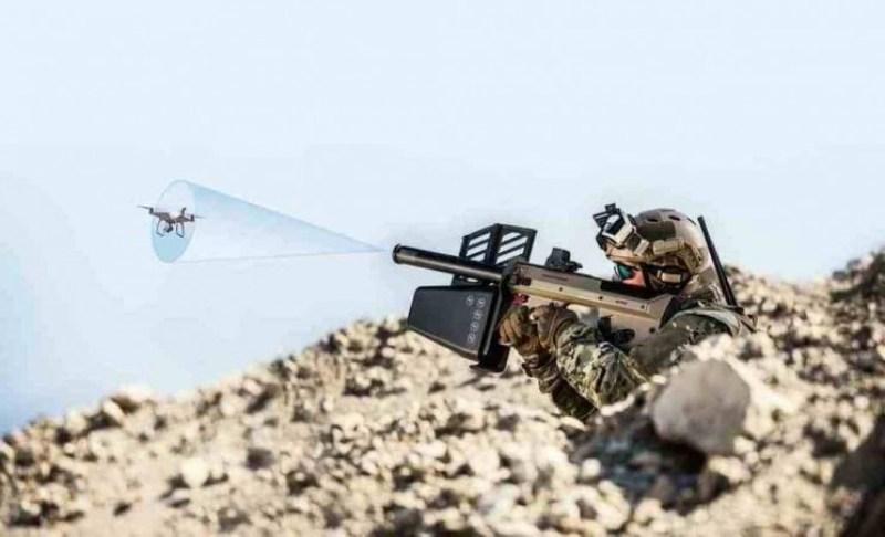 anti-drone gun DroneDefender