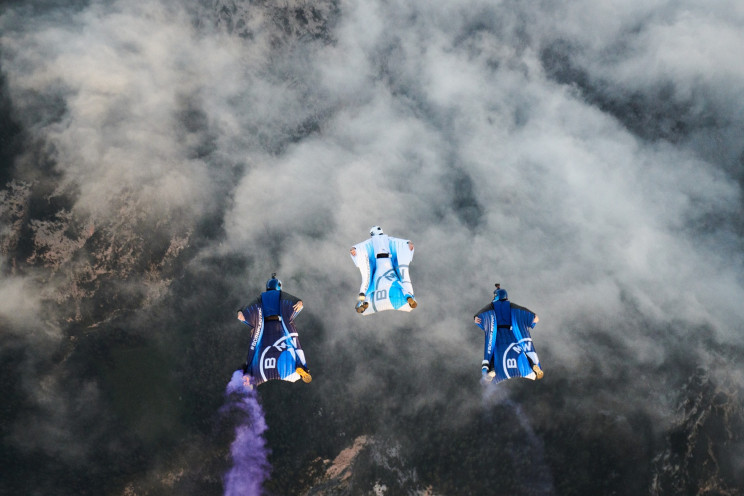 BMW Backed Impeller Thrusted Electric Wingsuit Can Fly at 185 MPH