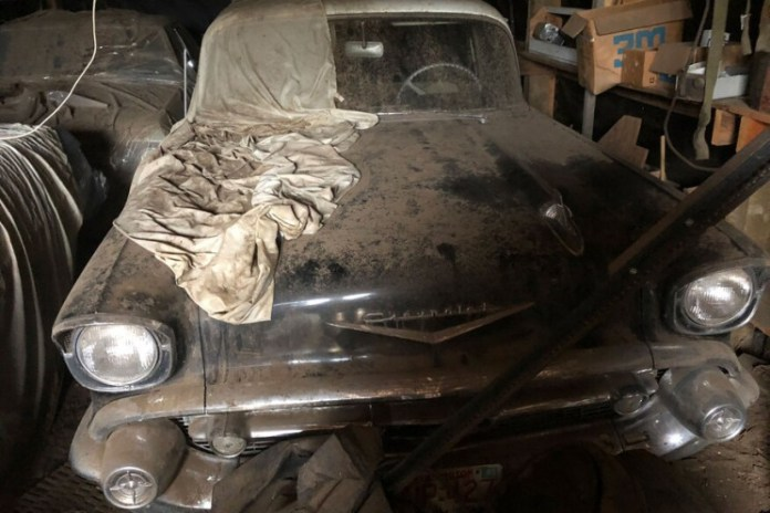 Man Finds '57 Chevy Parked in Barn for 35 Years, 24 Hours Later, He Gets It Running