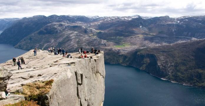 Preikestolen Норвегия