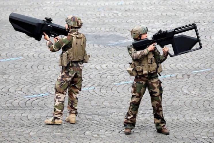 anti-drone guns bastille