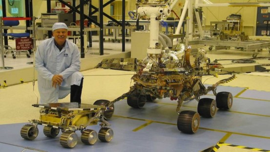 Just like NASA pilots its rovers on the surface of Mars