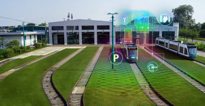 Германия Запускает Свой Первый Проект Автономного Трамвайного Депо
