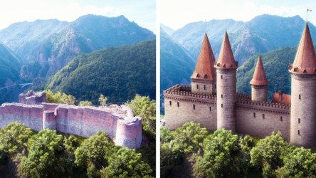 7 Beautiful Castles Being Reconstructed to Their Former Glory