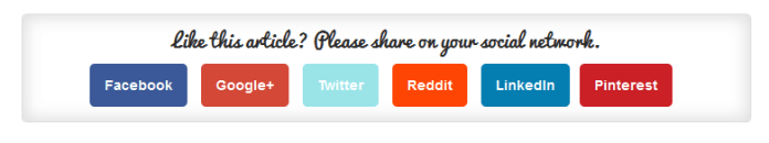 DC Simple Share buttons - 20 Best Social Sharing Plugins For WordPress