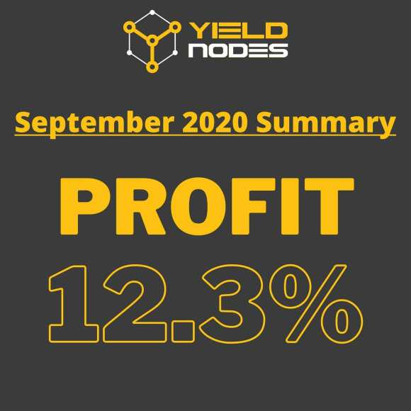 yieldnodes pays out 12.3% profit in September