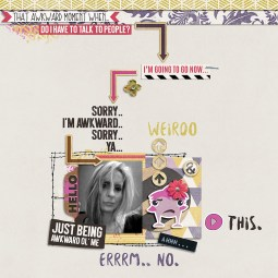 Awkward Elements by Just Jaimee Renewal Papers by Amy Wolff Template by Sara Gleason