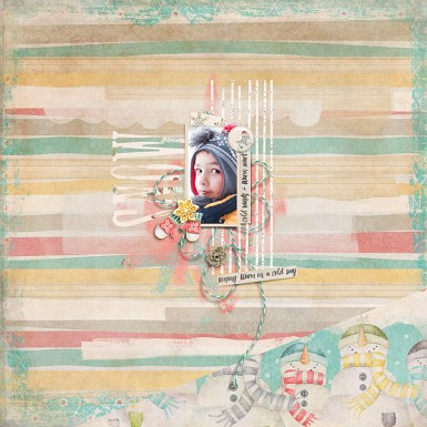 Snow Dreaming Mini Kit by Etc. by Danyale Ink Pad Alpha by Pink Reptile Designs Storyteller 2016 :: Sketched Templates - July Add-on by Just Jaimee