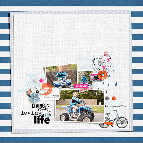 Blue Skies | Papers by Pink Reptile Designs Blue Skies | Elements by Pink Reptile Designs Hey Hi Hello {Dressed Down} by Fiddle-Dee-Dee Designs