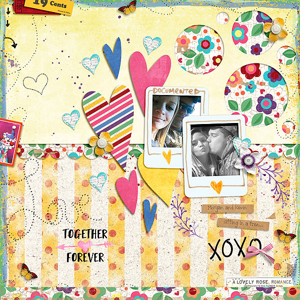 Delightfully Messy Edges by Amy Wolff Delightfully Devoted Elements by Amy Wolff Delightfully Distressed Paper Pack by Amy Wolff Template by Little Butterfly Wings