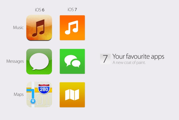 iOS 7 icons concept by @iamphilipjoyce and @FarkasDenes